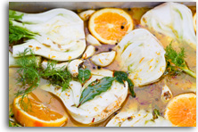 Slow braised fennel with orange recipe