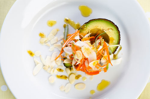 Fennel ceviche