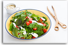 Spinach, strawberry and feta salad recipe